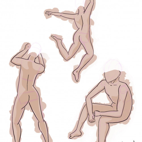 Dag 6. Poging tot anatomisch correcte twinks. (Dit is echt niet makkelijk, waar ben ik aan begonnen?)